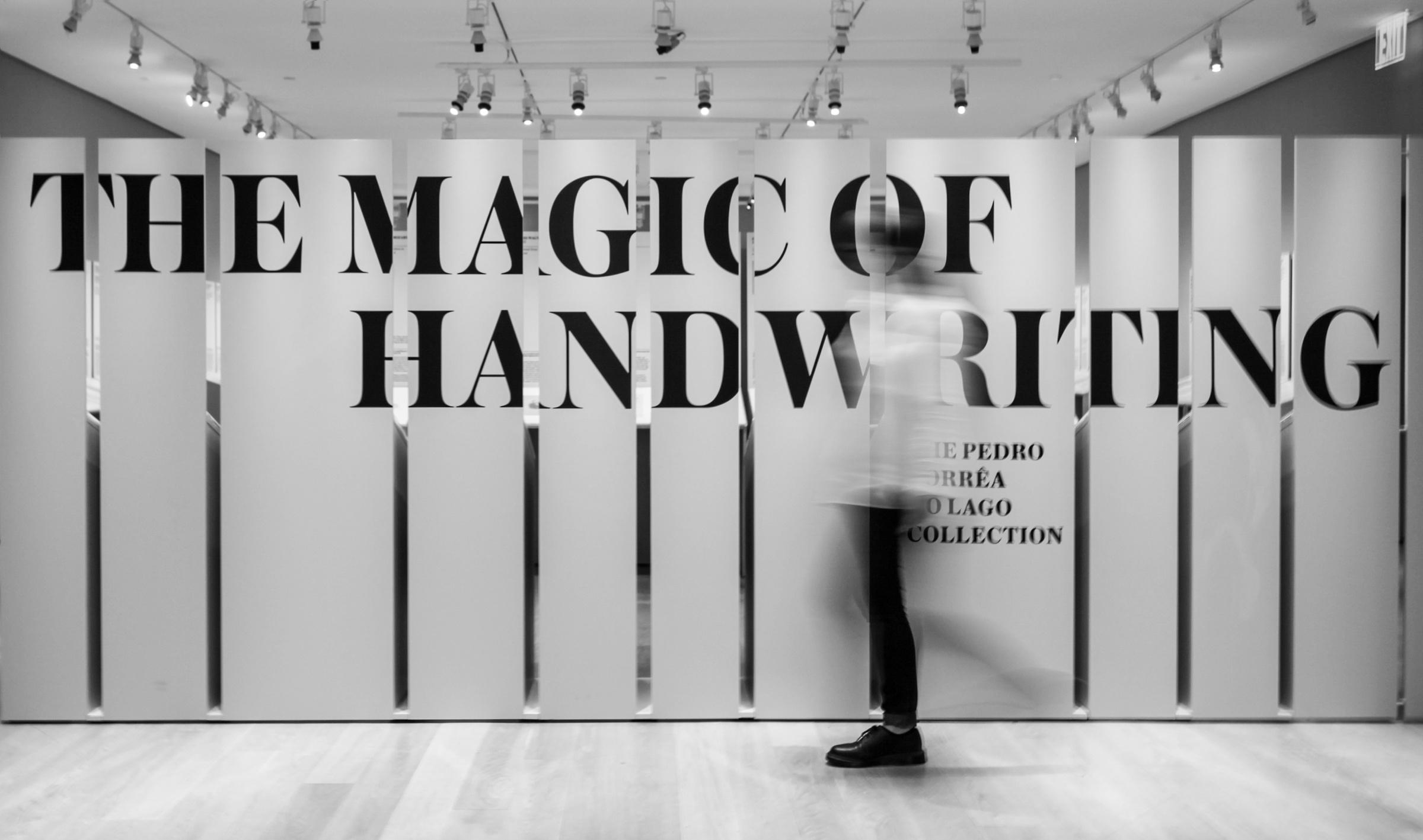 The Magic of Handwriting: The Pedro Corrêa do Lago